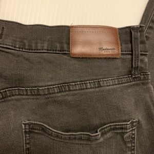 Madewell Jeans - Madewell Black Wash High Riser Skinny Jeans